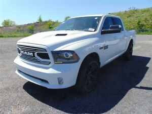 2018 Ram 1500 Sport*BED LINER*MAGS 20*CAMÉRA*UCONNECT 8.4*