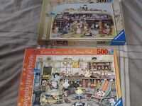 2 x 500 Jigsaw Brand New completed once – £3.00 per box or £5.00 for pair