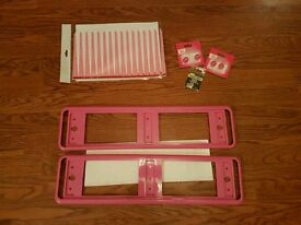New Pink car accessories