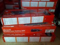 3x Microsoft wireless laser desktop 3000. Can be delivered FREE**