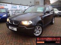 2006 06 BMW X3 2.0d SE**LOW MILES**1 YEARS MOT**FINANCE ME!