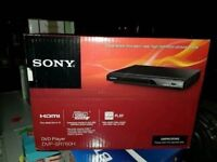 New Boxed SONY DVD Player For Sale