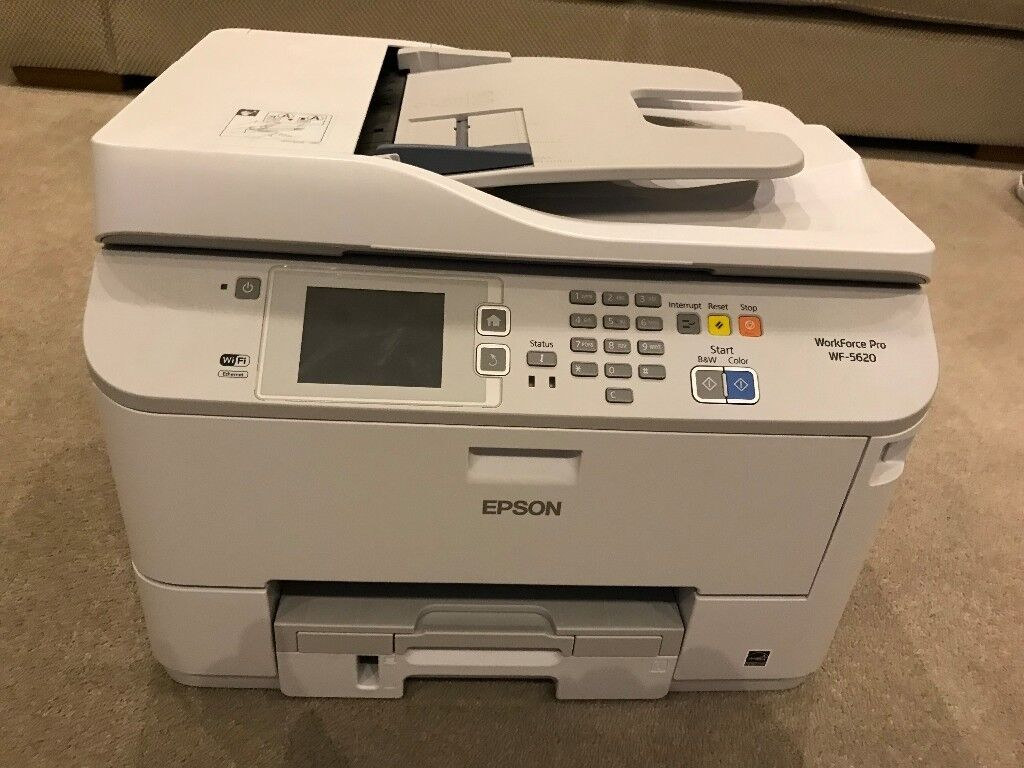epson wf 5620dwf workforce pro multifunction printer scanner fax