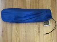 Self inflating camping mat, for use under a sleeping bag, new & tagged