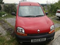 Renault Kangoo Wheelchair Accessible Vehicle Rear Ramp Disabled Car