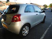 Toyota Yaris2 1.0 liter 2007 MOT 03/2019 3 door hatchback, not Fiesta,mazda,corsa cheap bargain