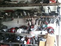 very large job lot of car parts ,enough to start your own webshop!