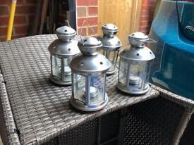 4 x Garden Lanterns