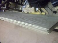 2 x 8 foot x 2 foot plywood boards T&G New