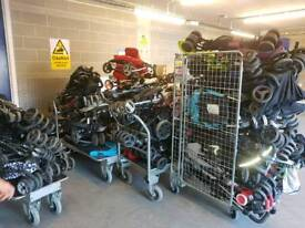 Job lot of 50 buggies ideal for car boosters, beaters and traders