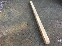 "Solid wood 4""x 4"" 6 foot long (50cm x 50cm x 240 cm )"