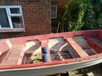 Fishing boat with trailer project