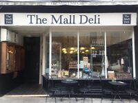 Full-time deli & cafe assistant wanted for The Mall Deli, Clifton Village