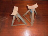 PAIR OF AXLE STANDS - collect from Maidstone, Kent