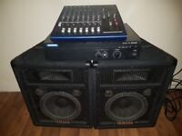 Yamaha mixer.monitors.amplifier