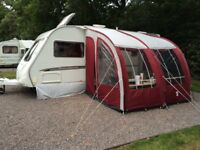 Swift Challenger 500 Fixed Bed Single Axle Touring Caravan