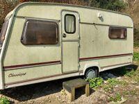 spares or repair 5 berth classic 440/5 carvan