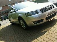 Audi a3 2.0 fsi low mileage clean car 150bhp