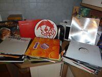 "JOB LOT X140 DJ GARAGE DANCE HOUSE DISCO DUB RAP 12"" SINGLES & EPS VINYL RECORDS"