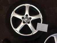 """17"""" vw wheels with winter tyres Pcd 5x112"""