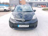 Toyota Aygo VVT-I iCE 1.0 Petrol 5dr Hatchback manual 2013, Warranted low mileage with full History.