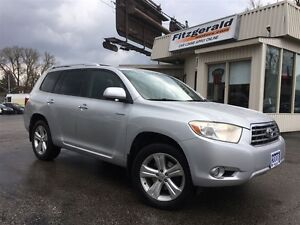 2008 Toyota Highlander Limited- 7 PASS! LEATHER! CAMERA!