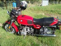 BMW R 45, not bobber custom triumph Norton bsa ariel classic motorcycle