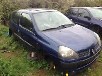 2003 1.2 Renault Clio breaking parts
