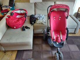Quinny Buzz pram, buggy, stroller