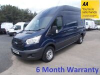 Ford Transit 350 RWD 2.2 TDCi 125 LWB H/Roof***Full Service History***Lease Co Direct***12 MONTH MOT