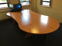 Executive Boardroom Table Unmarked
