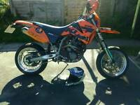 Road legal 2004 KTM 625 SMC supermoto