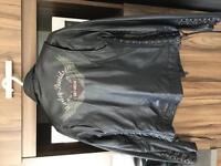 Veste de cuir Harley Davidson femme