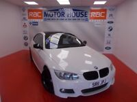 BMW 318i M SPORT(A MUST FOR VIEWING) FREE MOT'S AS LONG AS YOU OWN THE CAR!!! (white) 2011