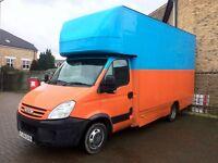 2009 iveco daily 35c15 3.0 hpi 150 bhp 6 speed Luton box van.