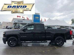 2017 Chevrolet Silverado 1500 1WT BLACKOUT DCAB 4WD/ 20 in WHL./