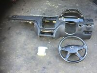 2010 MERCEDES C220 FULL AIRBAG KIT WITH DASHBOARD