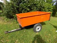 HUSQVARNA ride on mower trailer