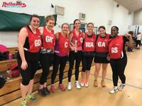 Secure your spot in our Social Netball Leagues!