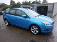 ** NEWTON CARS ** 09 FORD FOCUS 1.8 TD 115 ZETEC ESTATE, GOOD OVERALL, 79,000 MLS, FSH, MOT MAR 2018