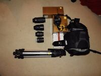 Massive Nikon Bundle D5000 DSLR, 17-55mm F2.8 Lens, 70-300mm Lens and more