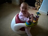 immaculate mamas andpapas activity pod from 3months to 1year,