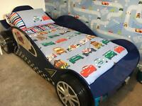 Kids car single bed , immaculate condition , £150.00 ovno,only 6 months old , cost £275 new