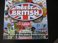 """Best of British"" Board Game"