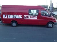 MZ REMOVALS MAN WITH VAN CHEAP