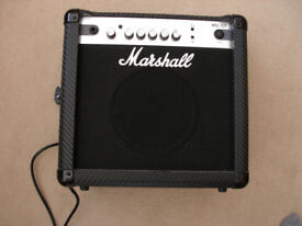 Marshall MG15CF Carbon Fibre 15W Guitar Combo Amplifier