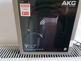 AKG Y50BT On Ear Bluetooth Headphones