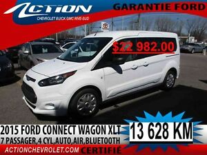 2015 Ford Transit Connect XLT Wagon,4 CYL,AUTO,AIR,BLUETOOTH