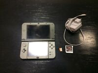New Nintendo 3DS XL - Boxed - Includes AV charger, Sky3DS (Blue button) and 64GB Samsung Evo SD card