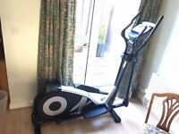 Get fit before the January rush to the gym! Excellent professional elliptical cross trainer
